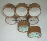 BOPP effacent la bande d'emballage/bande claire superbe d'emballage/bande de Brown