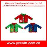 Decoratie van de Sweater van Kerstmis van de Decoratie van Kerstmis (zy14y593-1-2) de Breiende