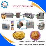 halb automatischer 50/100/200kg/H Kartoffelchip-Produktionszweig für Verkauf