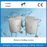 Baril abrasif automatique de sable de système de qualité pour la machine de découpage de jet d'eau