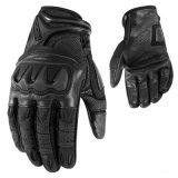 Перчатки сопротивления высокого качества кожаный для Motorcross/спортов (MAG17)