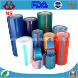 Пленка прозрачного и голубого полиэтилена PE защитная