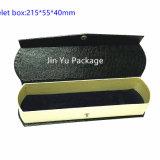Caisse d'emballage de papier noire de cadeau du bijou Jy-Jb104
