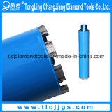 Morceaux Drilling de Segment-Partie lisse de foret de faisceau de diamant