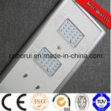 2016 indicatore luminoso di via solare Integrated solare caldo del sensore di movimento dell'indicatore luminoso di via di vendita 6W-80W LED tutto in uno