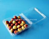 Casella di plastica impaccante di imballaggio per alimenti del contenitore della frutta di vendita di fabbricazione 500 grammi