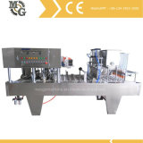 Machine remplissante de cachetage de cuvette linéaire automatique (cachetage de film de bobine)