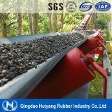 Correia transportadora de borracha resistente do óleo gordo da planta