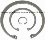 Anel de retenção do aço inoxidável/grampo de retenção (DIN471/DIN472)