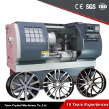 Torno do CNC da roda da liga da máquina do CNC para a roda de carro Awr2840