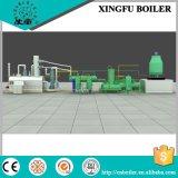 Strumentazione di distillazione dell'olio della gomma e della plastica
