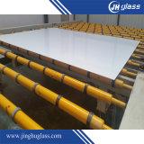 o branco do tamanho padrão de 3-12mm ultra para trás envernizou o vidro pintado