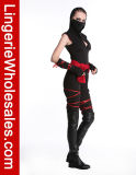 Маска грелок рукоятки орденской ленты шкафута женщин оборачивает Costume Ninja Catsuit