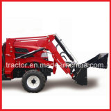 Tz08d Front End Loader con 4 en 1 Bucket, Tractor con cargador frontal (Aprobación CE)