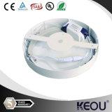 Round imperméable à l'eau 3/4/6/9/12/15/18/20/24watt DEL Ceiling Light