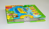 薄紙表紙の本の縫う結合の子供の学習参考書の印刷