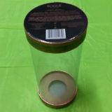 Cilindro de la caja de regalo del PVC con la impresión