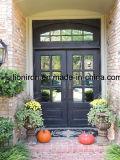 Klassische stilvolle bearbeitetes Eisen-Haustür von den Löwe-Eisen-Türen