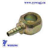 Banjo de véhicule de pièces d'auto ajustant l'embout de durites convenable hydraulique