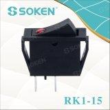 Lente de Soken Rk1-15 1X1n fora do interruptor de balancim