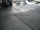 Equipement de conditionnement physique en plein air Rubber Mat Crossfit Gym Tapis en caoutchouc