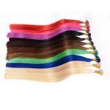 インポートされたイタリアの接着剤によってなされるブロンドの100つのケラチンによってひっくり返される人間の毛髪の拡張