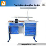 青いCorner Dental Lab BenchesかDental Technician Bench