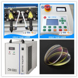 Grabador del laser del CO2 de Guangzhou para el acrílico de madera