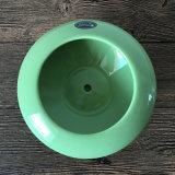 Crisol de cerámica colorido del platillo volante