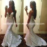 Кристаллический платье вечера E1522 Mermaid Vestidos мантии партии выпускного вечера