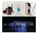 Spirito scuro del cavaliere del nuovo Jomotech vaporizzatore della cera di 2016 con il sistema di pulizia dell'acqua