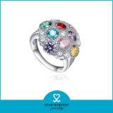 Joyería de plata de colores con Cubic zirconia para la Mujer (SH-J0170)