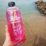 De lege Fles van het Water van het Glas 1000ml, het Drinken de Container van het Glas,