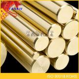 DINすべてのサイズ黄銅によって通される棒