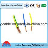 Solo aislante del PVC de la base del alambre flexible del cable eléctrico