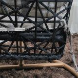 현대 안뜰 가구 거는 계란 그네 의자는 평화를 즐긴다