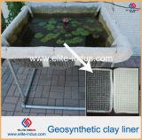 Couvertures d'argile pour des étangs de concentration