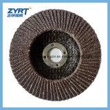 Disco radial da aleta do Zirconia do disco da aleta para o aço inoxidável