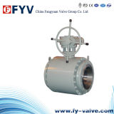 API Metal Seated Trunnion Mounted Ball Valves