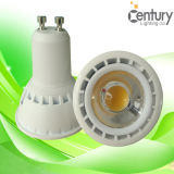 CE RoHS Regulable GU10 85-265V COB Luz LED Spot