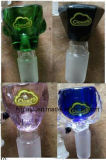 Tazón de fuente de cristal del tubo de agua del vidrio cristalino con la insignia 14# 19#