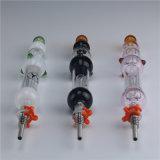 Het goed verkoopt de Collector van de Nectar met het Uiteinde van het Titanium door Czshining Glass met 10, 14, 18mm Verbinding