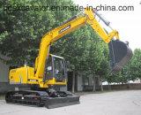 Nuovi piccoli escavatori gialli del cingolo della Cina con Grasper