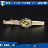 Custom Badge Shape Moda Metal Produto Zinc Alloy Tie Clip