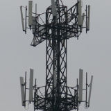 Exportar duraderos de alta calidad de tubos de acero Telecom Tower