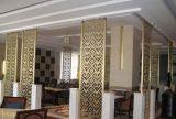 Produit d'acier inoxydable de couleur de diviseurs de pièce de rideau en restaurant