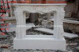 주식 (SY-MFP12302)에 있는 백색 Carrara 대리석 벽난로 벽로선반