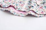 Cappotto incappucciato di modo con floreale sveglio stampato per i vestiti dei bambini