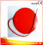 chaufferette ronde flexible électrique de silicones du diamètre 290*1.5mm de 240V 300W