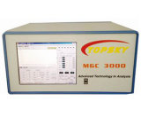 Analyseur de gaz micro de chromatographie gazeuse, portatif avec le système de rassemblement éloigné facultatif